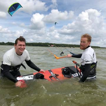 VDWS Lizenz erwerben, Kitesurfen lernen, Kitesurfschule