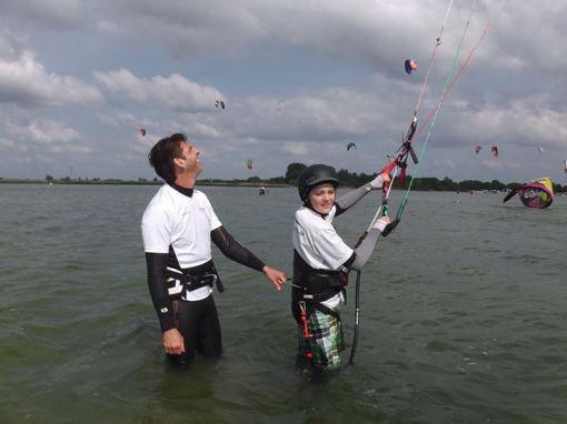 Kitesurfen - Kitesurfausrüstung - Kitetrapez