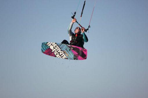 Kitesurfen - Tricks - Gesprungene Richtungswechsel