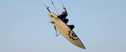 Kitesurfausrüstung - Kiteboard