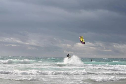 Kitesurfen - Tricks - Handlepasses