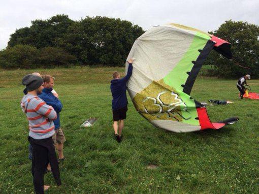 Kitesurfen - Basictechniken - Flugübungen