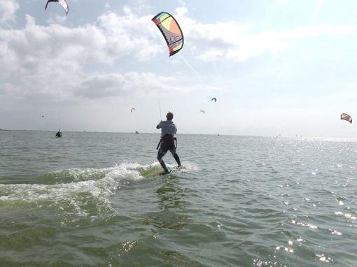 Kitesurfen - Basictechniken - Wendetechniken