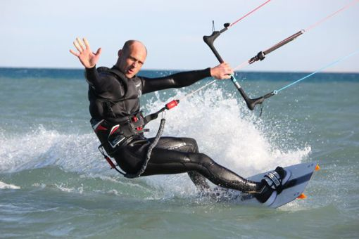 Kitesurfen - Tricks - Backroll