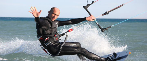 Kitesurfen - Tricks - Backroll