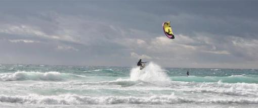 Kitesurfen - Tricks - Handlepasses