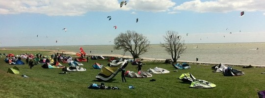 Kite Event, Kitespot Mirnser Kliff, Kitesurfen lernen
